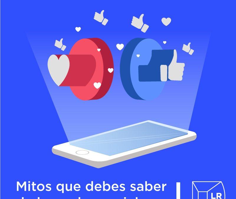 mitos sobre redes sociales